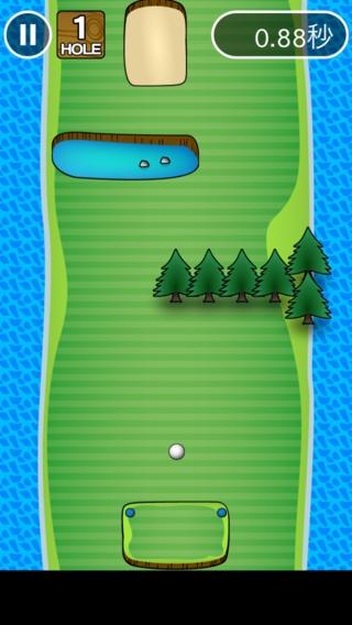 「イライラゴルフ」のスクリーンショット 2枚目