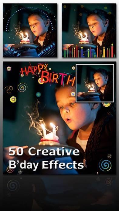 「Birthday Frame Greetings」のスクリーンショット 2枚目