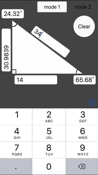 「角度と長さを自動計算」のスクリーンショット 1枚目