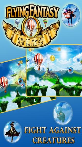 「オズフライングファンタジー - グレートレースゲーム魔法の熱気球で」のスクリーンショット 2枚目