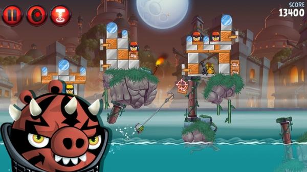「Angry Birds Star Wars II」のスクリーンショット 2枚目