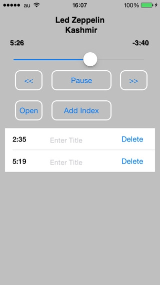「IndexPlayer」のスクリーンショット 3枚目