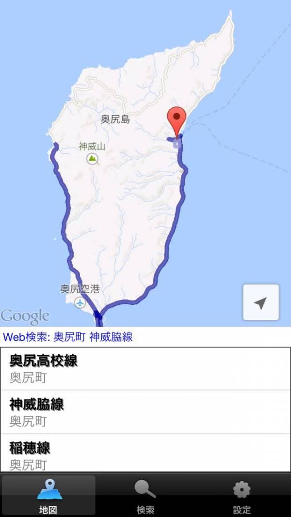 「全国バス経路マップ」のスクリーンショット 3枚目
