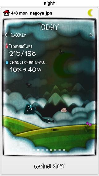 「Weather Story」のスクリーンショット 3枚目