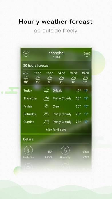 「Weather - 10 days forecast」のスクリーンショット 2枚目