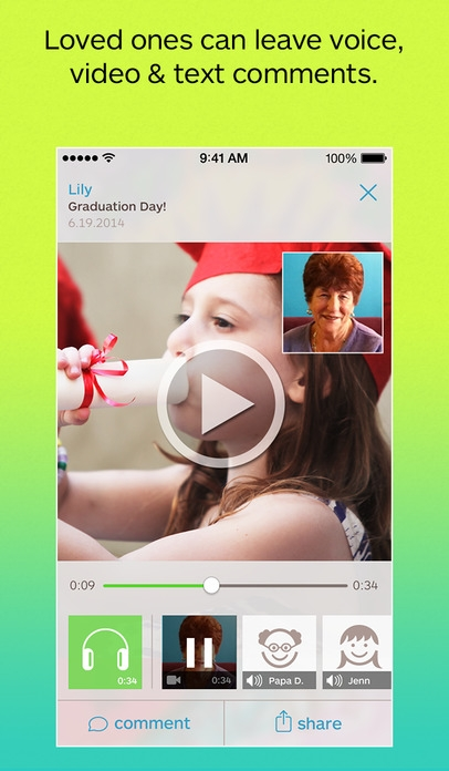 「Keepy - Organize, Share and Make Things with Your Kids' Artwork, Schoolwork and Memories」のスクリーンショット 2枚目