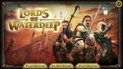 「D&D Lords of Waterdeep」のスクリーンショット 1枚目