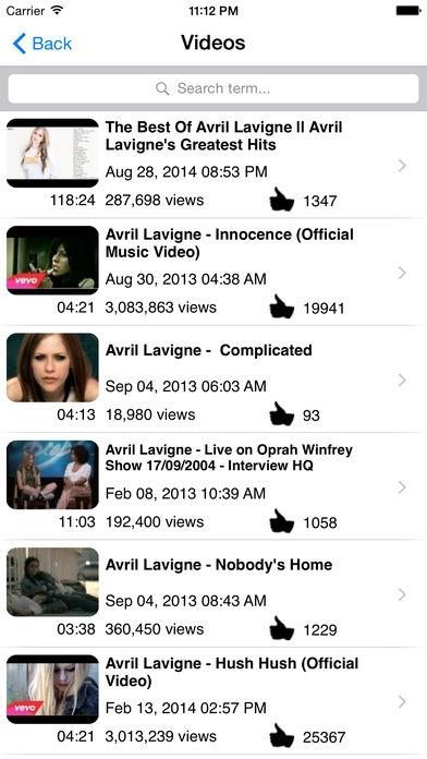 「Fan Club - Avril Lavigne Edition」のスクリーンショット 3枚目