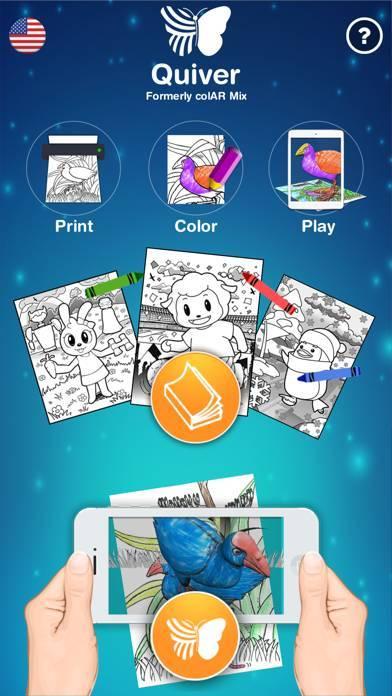 「Quiver - 3D Coloring App」のスクリーンショット 1枚目