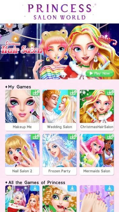 「Princess Salon World」のスクリーンショット 1枚目