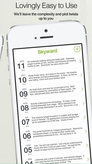 「Zentries:  美しくて直感的なアプリです。日記や個人的なメモなどを記録するのに最適です。」のスクリーンショット 2枚目