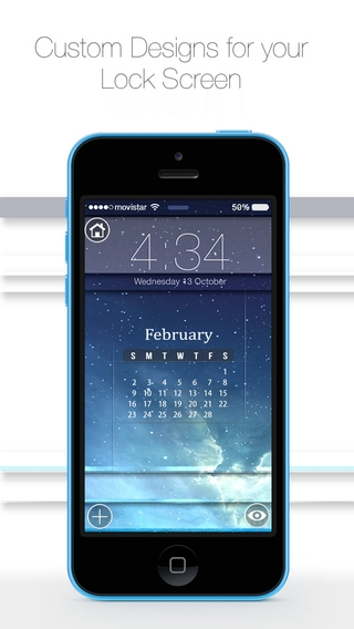 「Free Wallpapers HD for iOS 8 & iOS 7 :: Custom your themes with hd wallpapers for iPhone, iPod touch and iPad」のスクリーンショット 2枚目