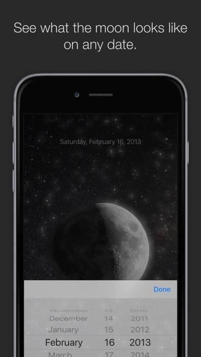 「MOON - Current Moon Phase」のスクリーンショット 3枚目