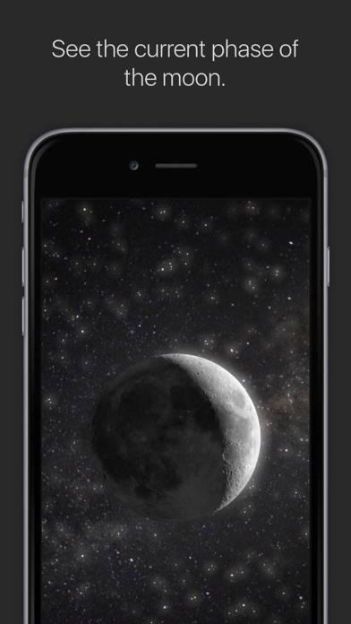 「MOON - Current Moon Phase」のスクリーンショット 1枚目