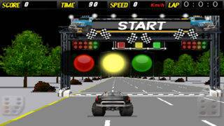「A Super Monster Truck Racing 3D- Free Real Multiplayer Offroad Race Game」のスクリーンショット 3枚目