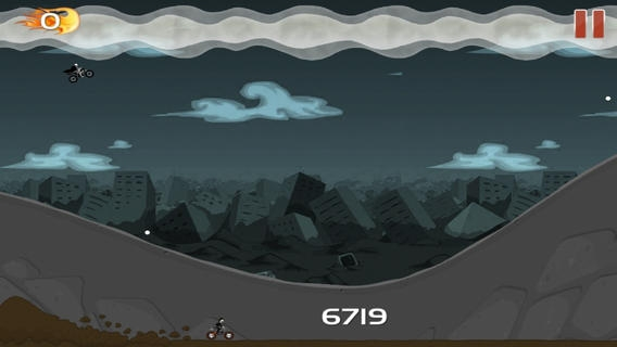 「A Evil Dead Bloody Bike Race」のスクリーンショット 3枚目