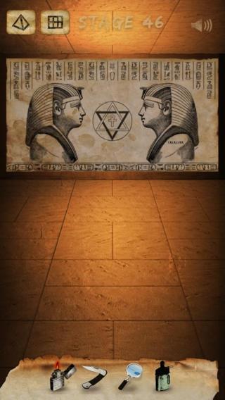 「謎解き脱出ゲーム Curse of the Pharaohs」のスクリーンショット 1枚目