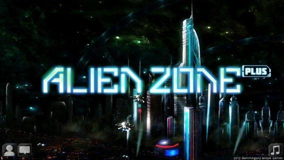 「Alien Zone Plus」のスクリーンショット 1枚目