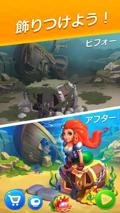 「フィッシュダム(Fishdom)」のスクリーンショット 2枚目