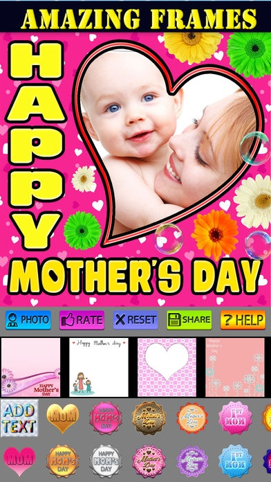 「Happy Mother's Day Greeting Cards」のスクリーンショット 1枚目