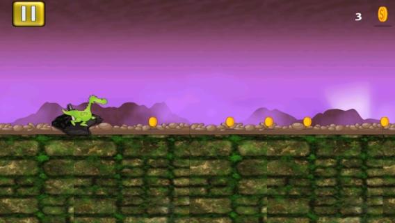 「子供のための無料のドラゴンゲーム - ベビードラゴンは自由を実行」のスクリーンショット 3枚目