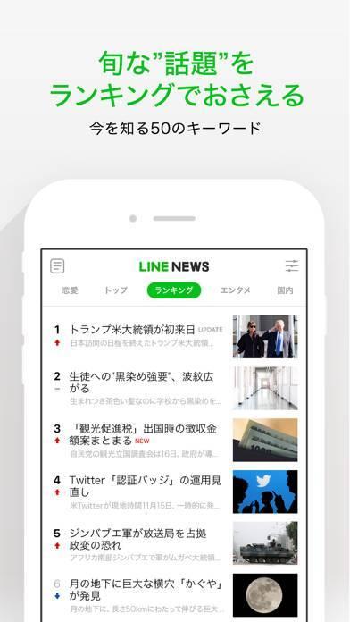 「LINE NEWS」のスクリーンショット 2枚目