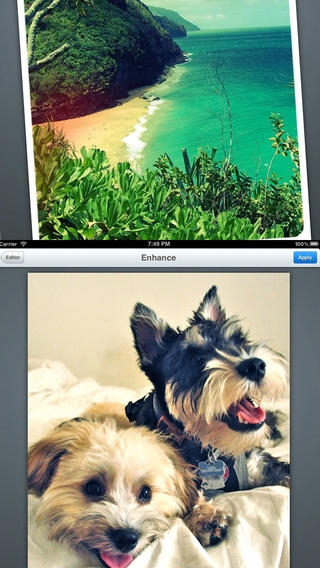 「A Beautiful Photo FX: Simple Editor With Instagram Share Camera App」のスクリーンショット 2枚目