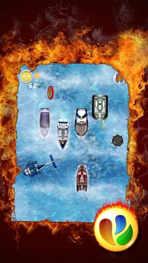 「海賊ボートレース、無料のレーシングゲーム - Pirate Speed Boat Race, Free Racing Game」のスクリーンショット 2枚目