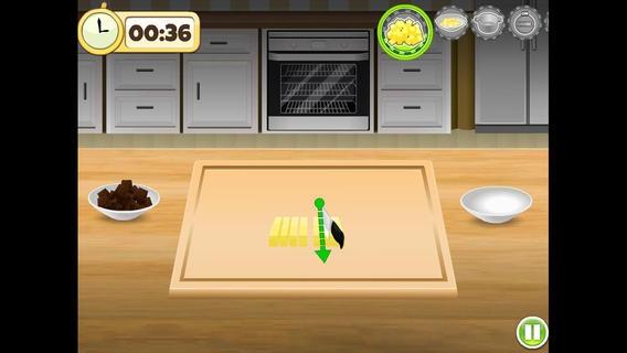 「おいしいシェフ - ブラックフォレストケーキ - 無料料理とベーキングとドイツの有名なレシピの周りの女の子と子供のための面白いゲーム」のスクリーンショット 3枚目