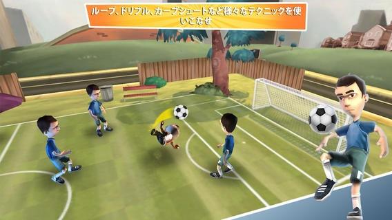 「Soccer Moves」のスクリーンショット 3枚目