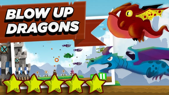 「Spellsword Dragon Clash Defense – Medieval Castle Shooting Action Game for Kids FREE」のスクリーンショット 2枚目