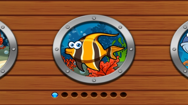 「Sea Animal Games & Jigsaw Puzzles for Toddlers」のスクリーンショット 1枚目
