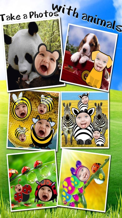 「Baby Faces Photo Frames Pro」のスクリーンショット 2枚目