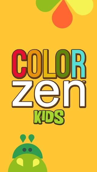 「Color Zen Kids」のスクリーンショット 1枚目