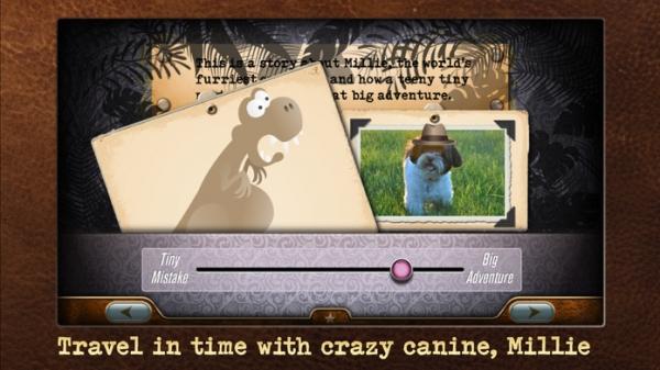「Millie's Crazy Dinosaur Adventure - Millie Was Here, Book 3」のスクリーンショット 1枚目