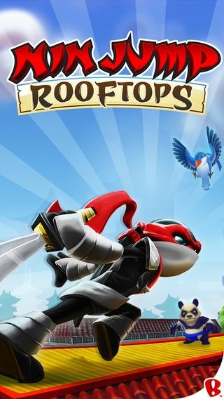 「NinJump Rooftops」のスクリーンショット 1枚目