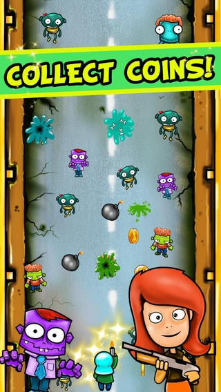 「Zombies Smasher (Dead Highway Road Trip) - ゾンビゴーカート道路チェースレーサートップ無料ゲーム - 簡単な子供 とカーレースアクション 音楽 植物 アン 道路 レース アクション カート 簡単」のスクリーンショット 3枚目