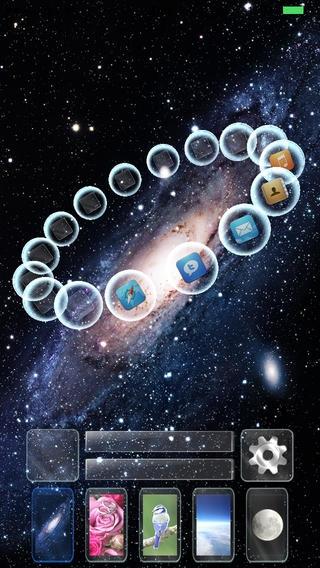 「Z Launch - もうひとつのホームスクリーンをあなたに、カスタマイズ性の高い片手ランチャー」のスクリーンショット 1枚目