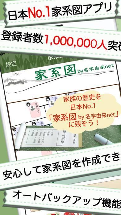 「家系図 by 名字由来net 日本No.1 100万人」のスクリーンショット 1枚目