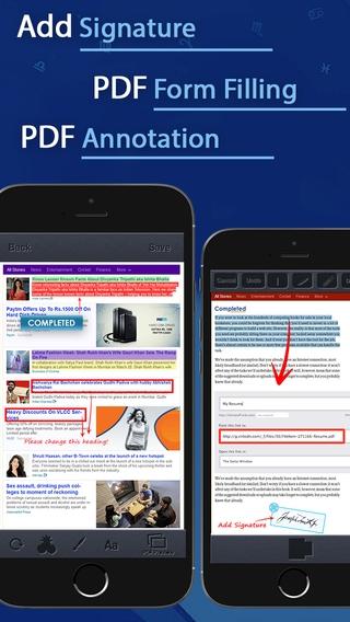 「PDF Converter and Printer Pro : PDF Scanner , scan document, receipt,pdf annotation」のスクリーンショット 2枚目