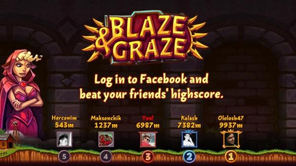 「Blaze&Graze!」のスクリーンショット 2枚目