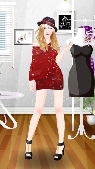 「ファッションデザイン&ドレスアップ - 女の子ゲーム」のスクリーンショット 1枚目