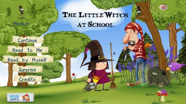 「The Little Witch at School」のスクリーンショット 1枚目