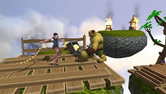 「Adventure Quest Hero Run Free」のスクリーンショット 2枚目