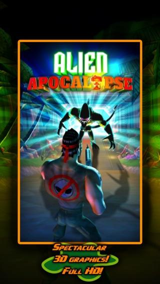 「Alien Apocalypse X」のスクリーンショット 1枚目
