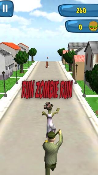 「A City Zombie Run: Uber Endless Running Free Game」のスクリーンショット 3枚目