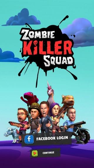 「Zombie Killer Squad」のスクリーンショット 1枚目