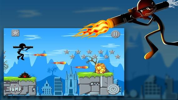 「Ace Elite Army Battle Stickman Chase FREE」のスクリーンショット 2枚目