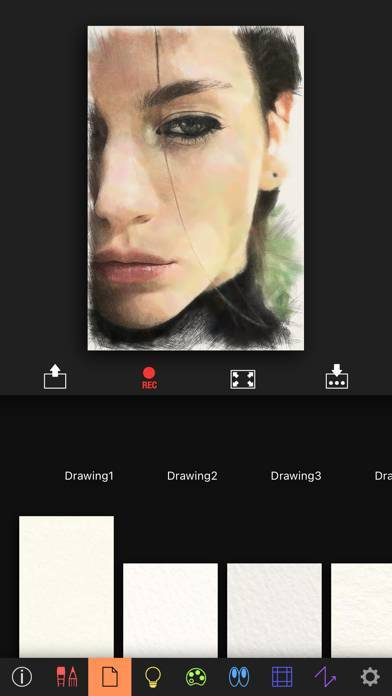 「Artomaton お絵描き人工知能」のスクリーンショット 2枚目