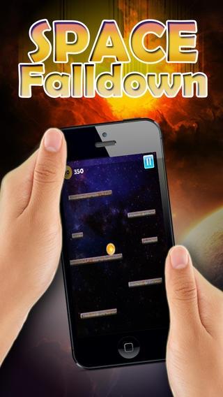 「Space Falldown ! :重力加速度エスケープLiteのアーケードゲーム - 落下ベスト楽しみの一つ 子供のためのボールゲーム - 無料アプリを転がすクールファニー3D病みつき - 加速物理学と嗜癖アプリ」のスクリーンショット 2枚目